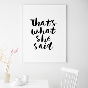 #Poster #That's #What #She #Said #pa 25€ #magasin #D Idee #cadeaux #Noel #Drancy  https://t.co/hOuRP1RLDF https://t.co/0fvWu4LY5e