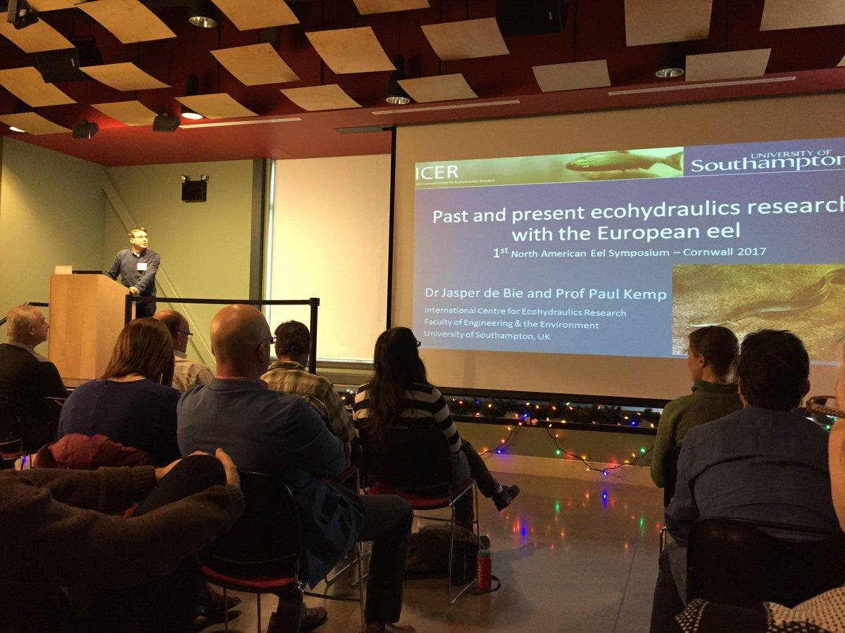 test Twitter Media - Jasper De Bie giving presentation to Eel symposium in the United States. https://t.co/Cf5zpc0jiF
