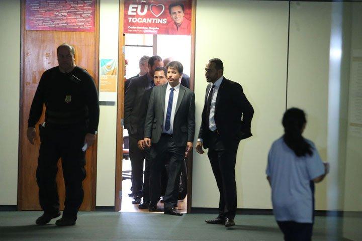 @BroadcastImagem: PF cumpre mandados na Câmara em investigação sobre fraudes no Tocantins. André Dusek/Estadão