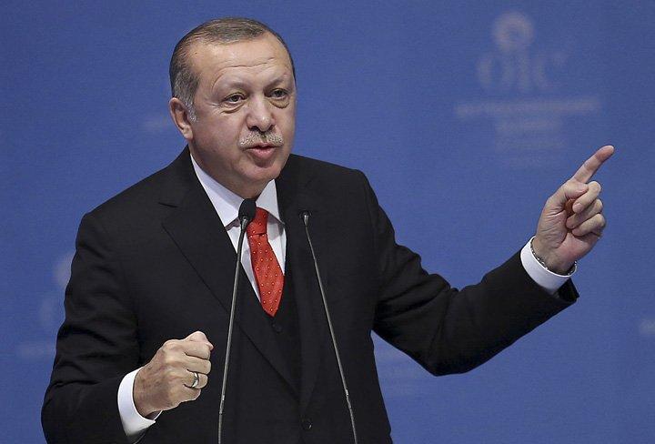 @BroadcastImagem: Erdogan critica Israel e chama país de 'Estado de terror'. Emrah Yorulmaz/AP