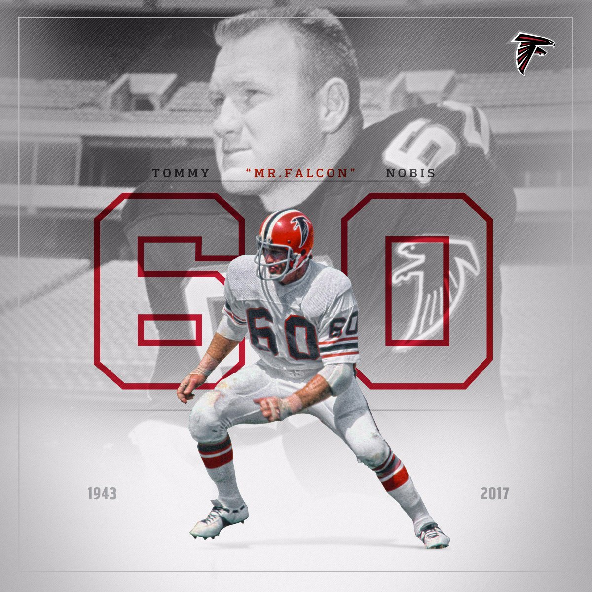 RT @AtlantaFalcons: Rest In Peace, Tommy Nobis.   #ForeverMrFalcon https://t.co/TsSkxT4045