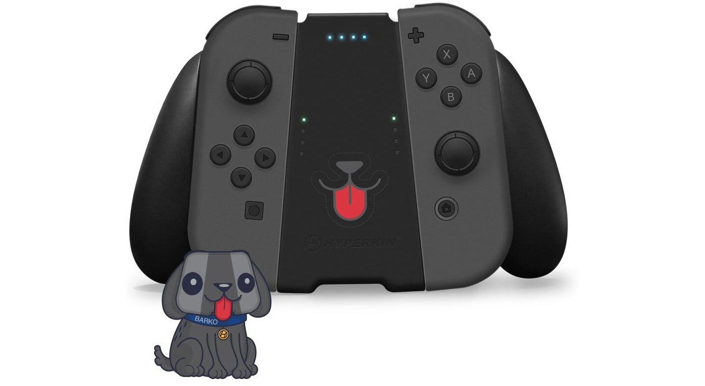 Switch accessory turns your Joy-Cons into a very good dog. https://t.co/EA3lJOndYQ https://t.co/e2rMFOzWDV