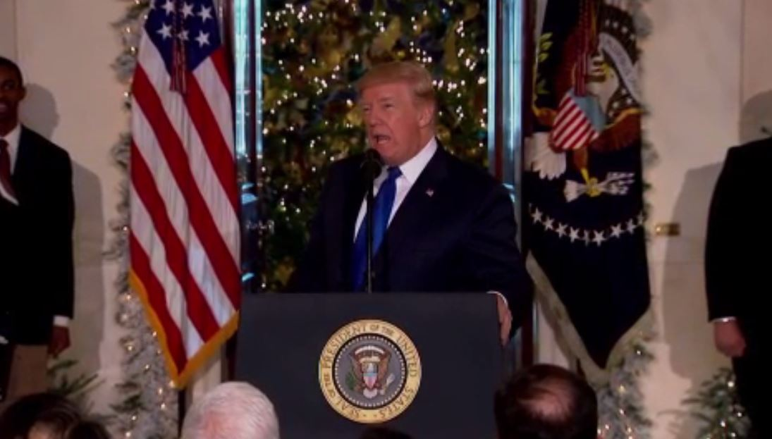 LIVE: President Trump gives remarks on GOP tax plan