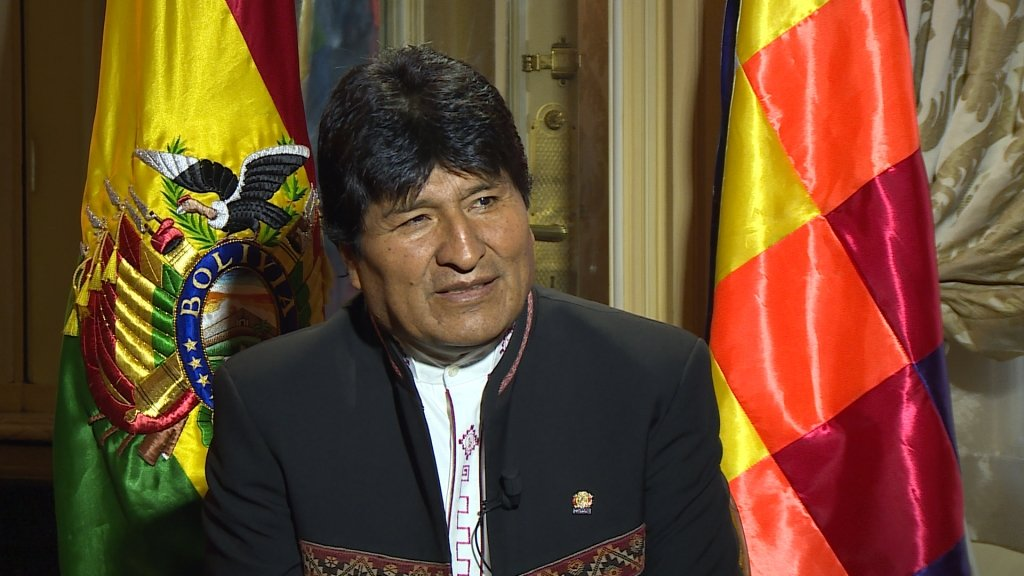 Evo Morales: US exit from Paris accord is 'unforgivable'