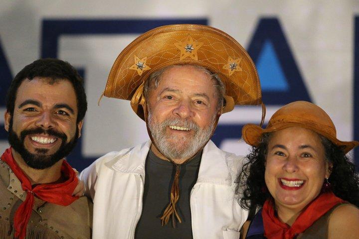@BroadcastImagem: 'Quero ser inocentado para ser candidato', diz Lula em evento com catadores em Brasília. Dida Sampaio/Estadão