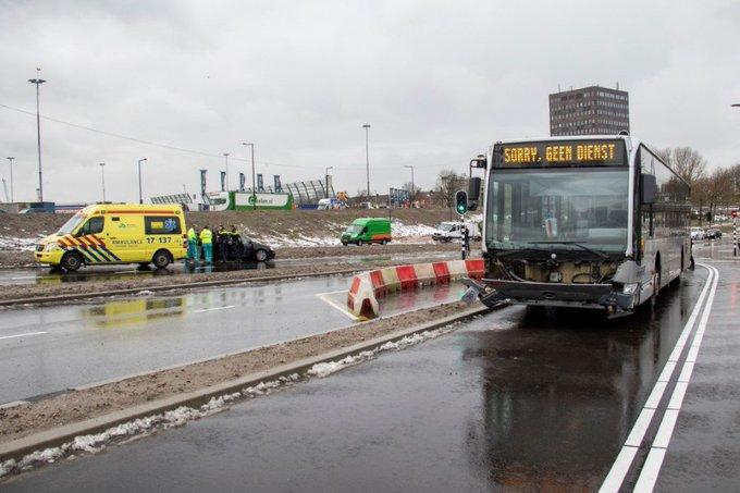 Vlaardingen; Ongeval op nieuwe busoversteek Vijfsluizen https://t.co/7uNN6PhuOn https://t.co/LJjeWW1RJO