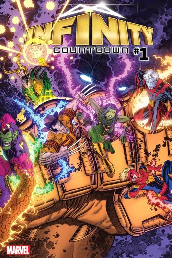 Marvel to unleash 'Infinity Countdown' comic ahead of the next Avengers movie