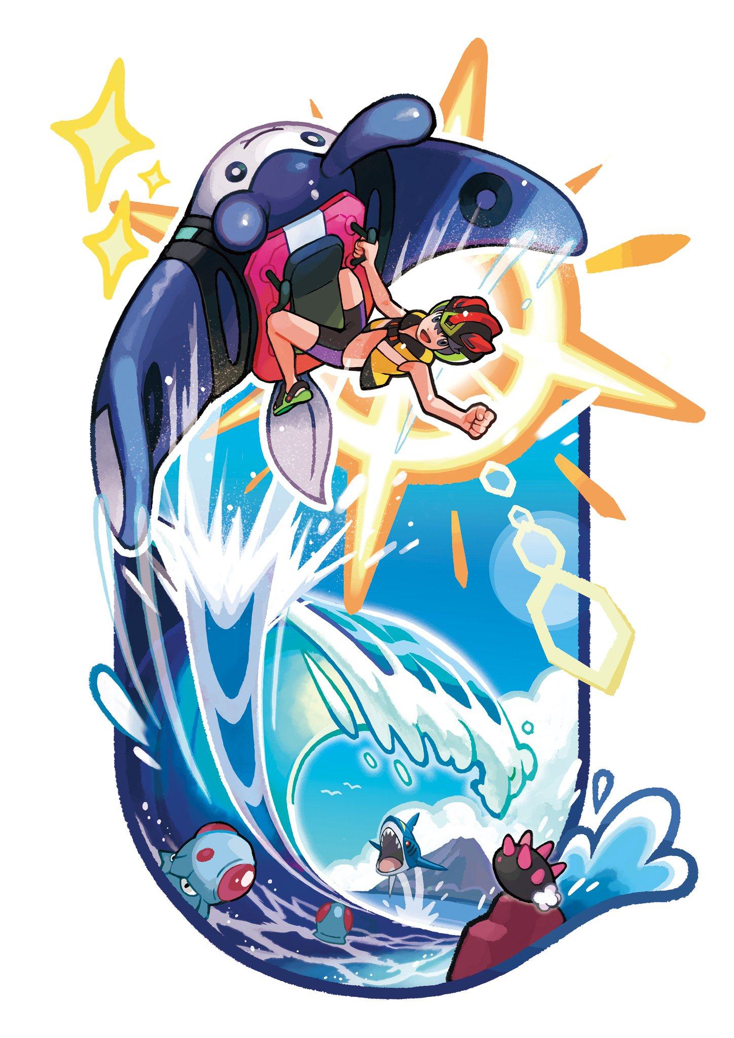 Now that you've had a chance to catch some waves in #PokemonUltraSunMoon, what is your highest Mantine Surf score? https://t.co/ZPPi73apKU