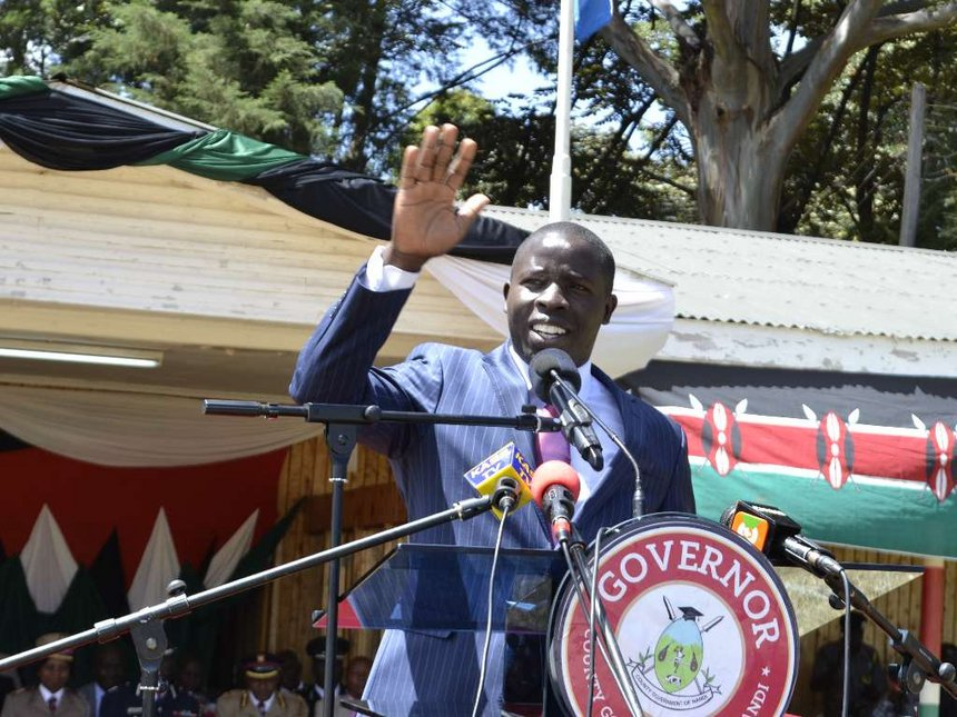 Governor Sang wants KFS to stop logging in Nandi