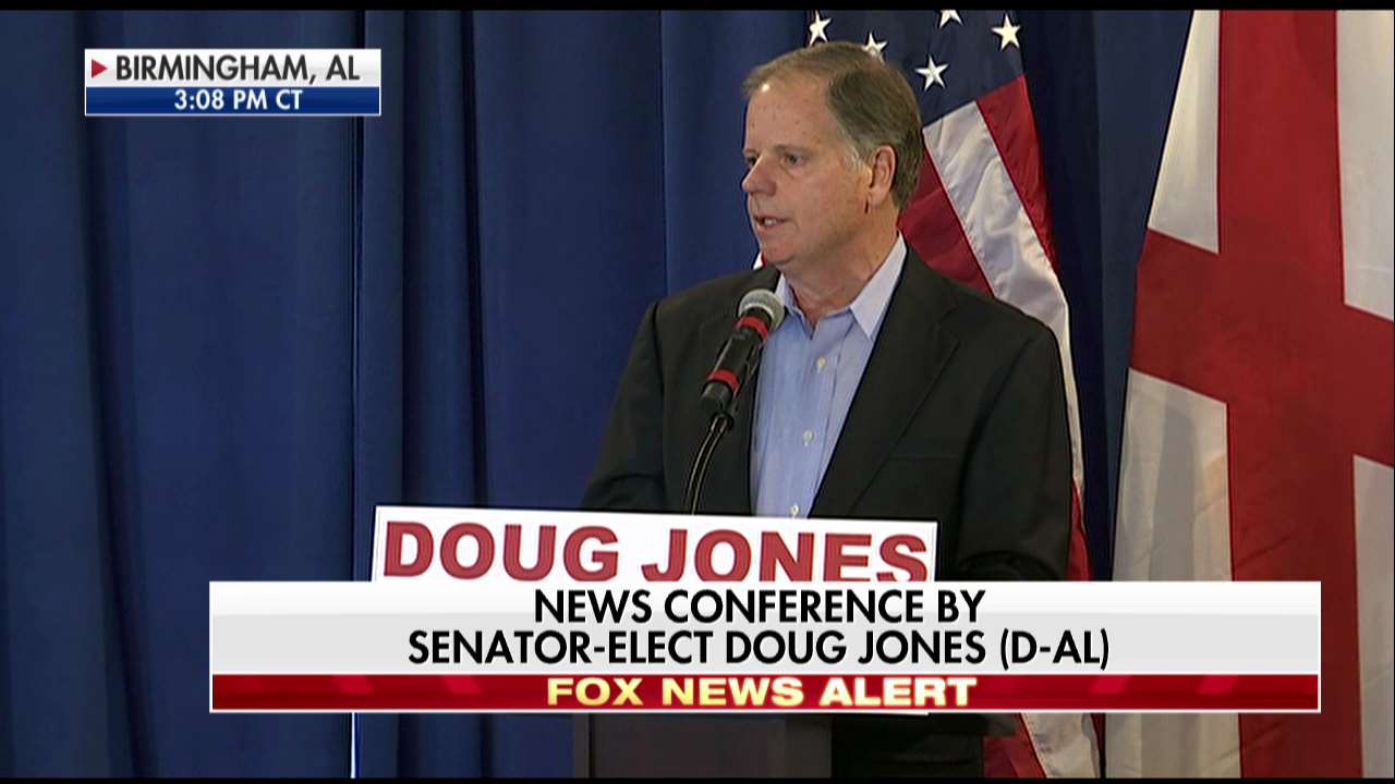 .@GDouglasJones: 'It has been an amazing day today. I have received from so many well-wishers.' https://t.co/K0RAuiphIY