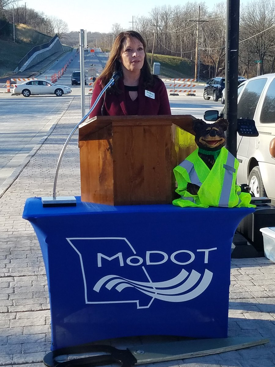 test Twitter Media - Ribbon cutting for the Route 45 widening project is underway. @parkvillemo Mayor Nan Johnston opened the ceremony. https://t.co/3NiURqpnkS