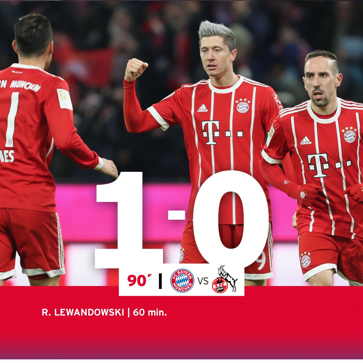 RT @FCBayernEN: Three points!!! That'll do nicely 👌 #FCBKOE 1-0 https://t.co/QPOS91BoXZ
