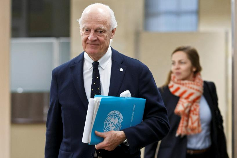 Putin must nudge Syria into U.N. peace deal, mediator says