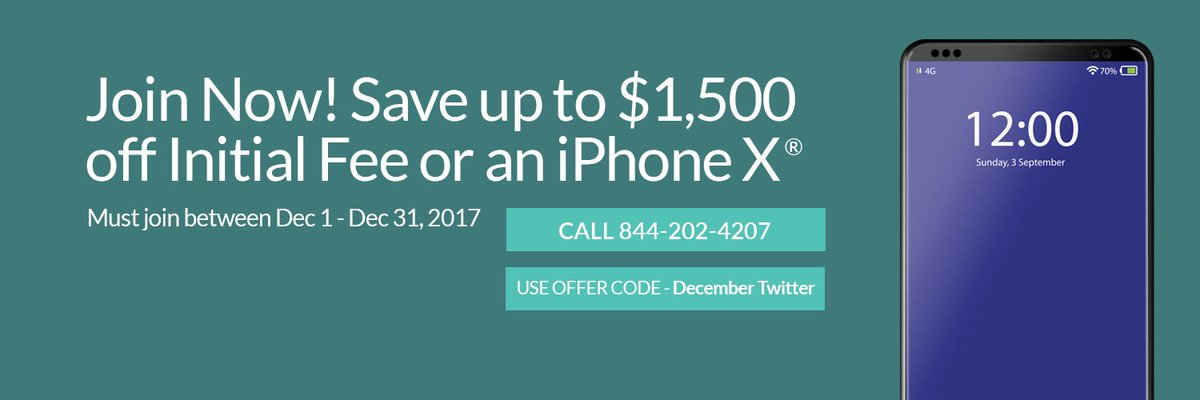 test Twitter Media - Ring in the new year with up to $1,500 off your initial fee or new iPhone X(r) when you join WealthCounsel from now till 12/31! Offer code: December Twitter https://t.co/FNvX0VvZZ8