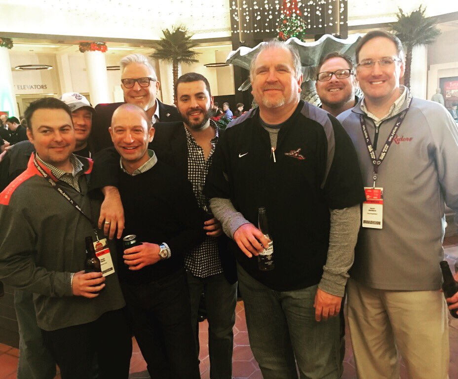 "A few of the original branches at the annual gathering of @tweetparney's ""family tree"" 🌲👨‍👦‍👦 #WinterMeetings https://t.co/5SiWm9gcNL"