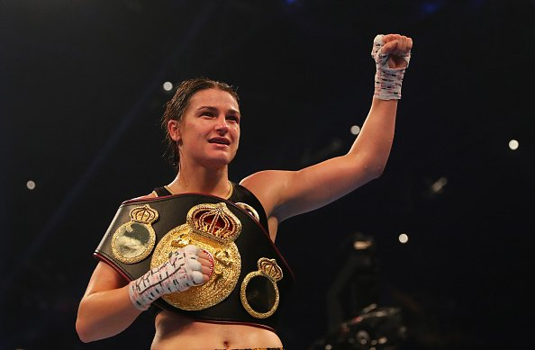@KatieTaylor retains WBA lightweight title after beating Jessica McCaskill on points. #SSN https://t.co/ry3WB1cdqc