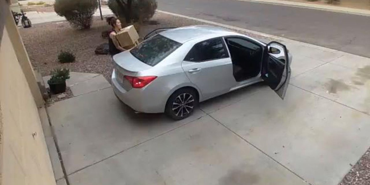 PCSO arrested 2 suspected package thieves in San Tan Valley