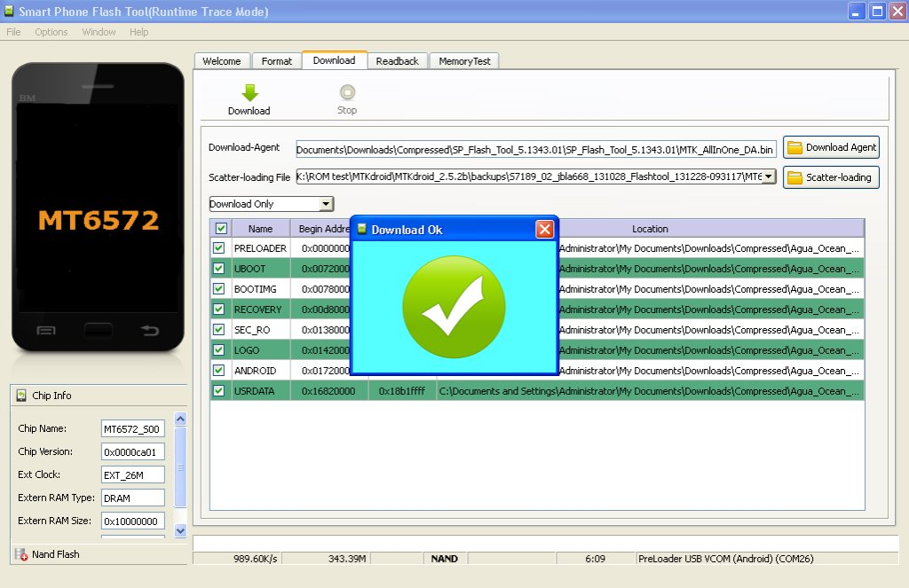 Qmobile A110 flash file 100% Tested Scatter file Download