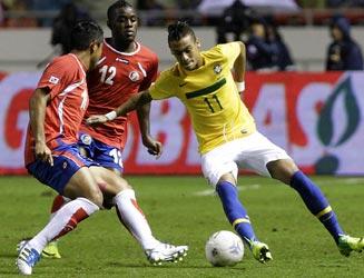 Costa Rica se verá nuevamente con Brasil