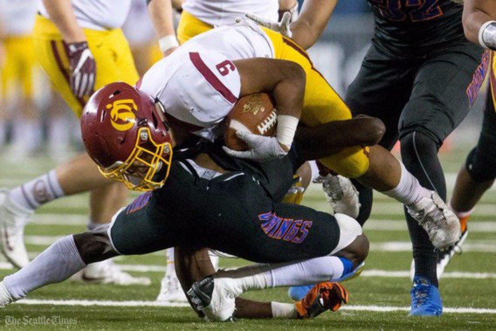 test Twitter Media - O'Dea wins its first state football title since 1995, giving coach Monte Kohler his fourth crown in a 38-11 win over Rainier Beach. #wafbscores   https://t.co/EClLrsUmpf https://t.co/09EDPtKQyI