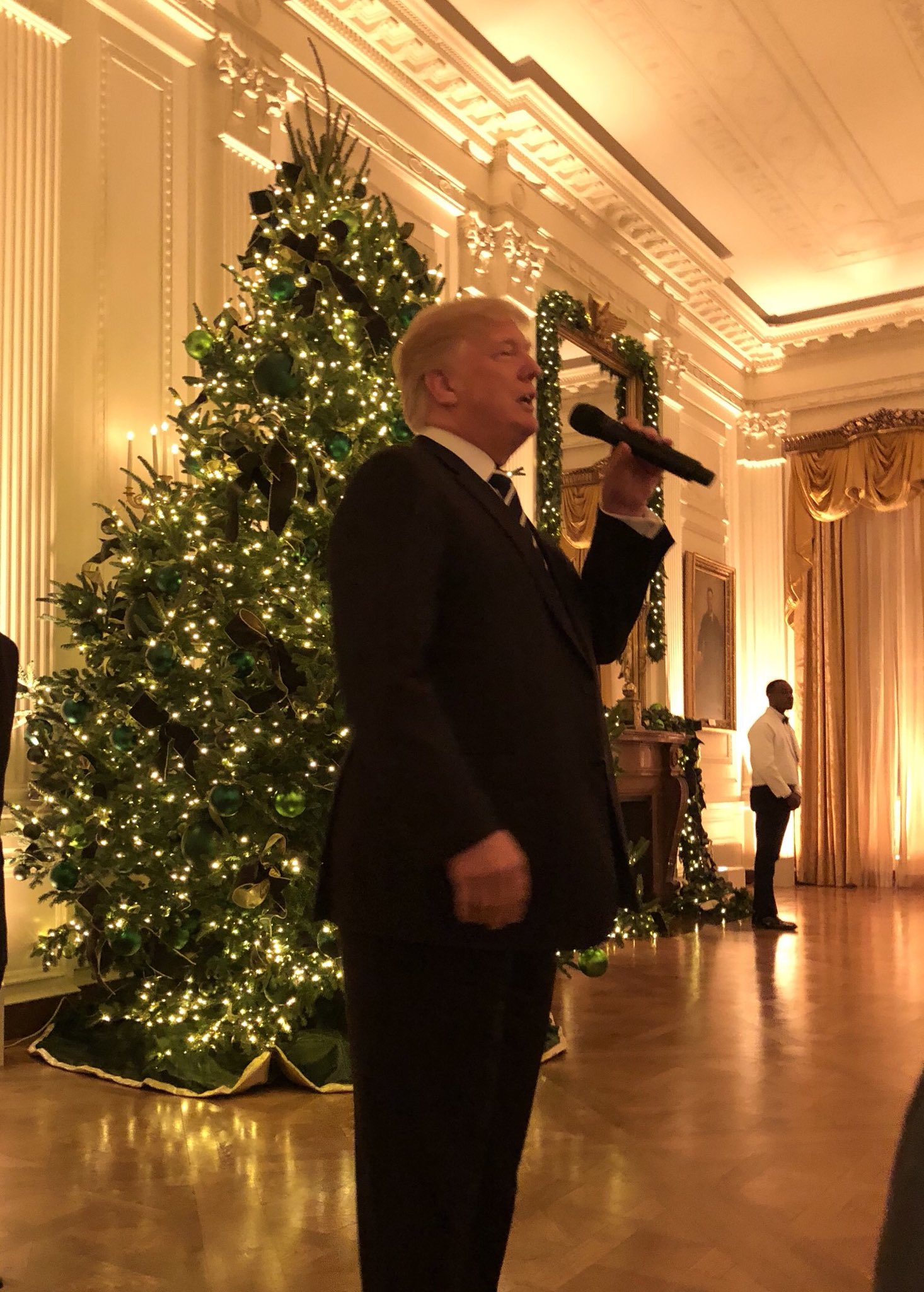 President talks year one accomplishments at WH Christmas party last night before Senate passes historic tax cuts https://t.co/OghQ9FI56d