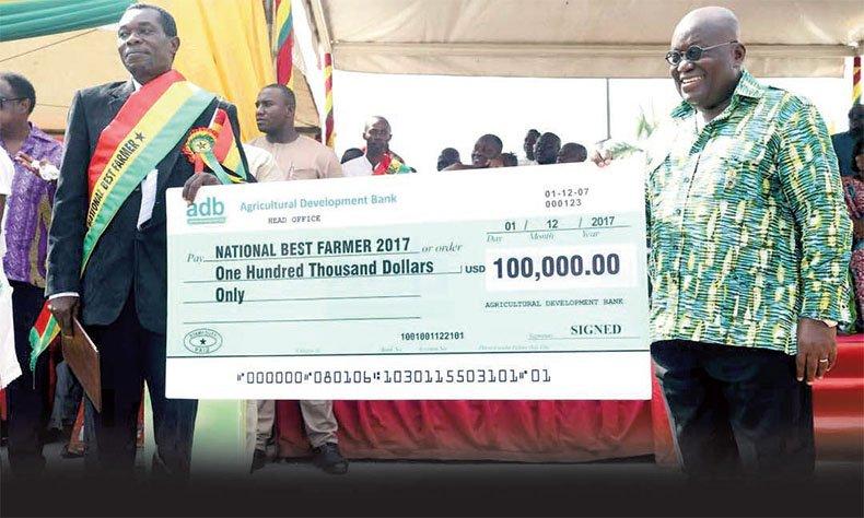 Best Farmer Grabs $100,000 Cash