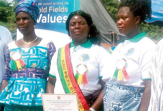 Women Sweep Farmers' Awards At Tarkwa