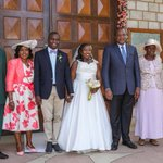 Uhuru Kenyatta attends wedding in Nairobi but do you know the couple?