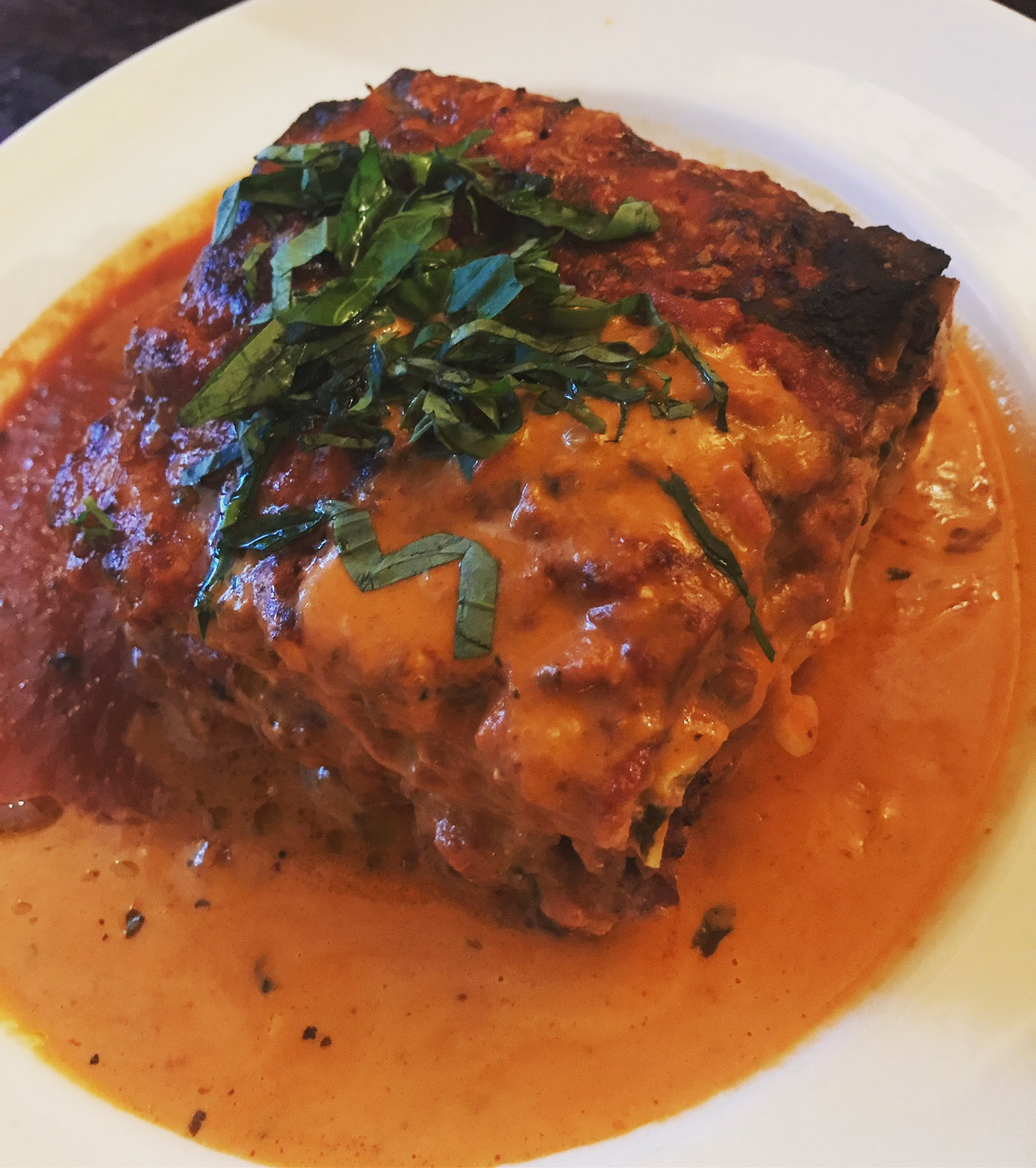 Lasagna Alla Bolognese #lunch #restaurantrownyc #Becco https://t.co/SlL81PF2Mf