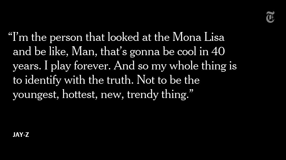 Why Jay-Z isn't worried about being the hottest thing in rap right now https://t.co/WqRahmAU9D https://t.co/1aEOPpGYnu
