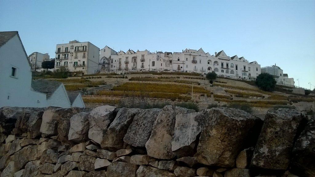 On arrive dans les Pouilles, le pays de la pierre sèche! / We are in Puglia, dry-stone wall everywhere !