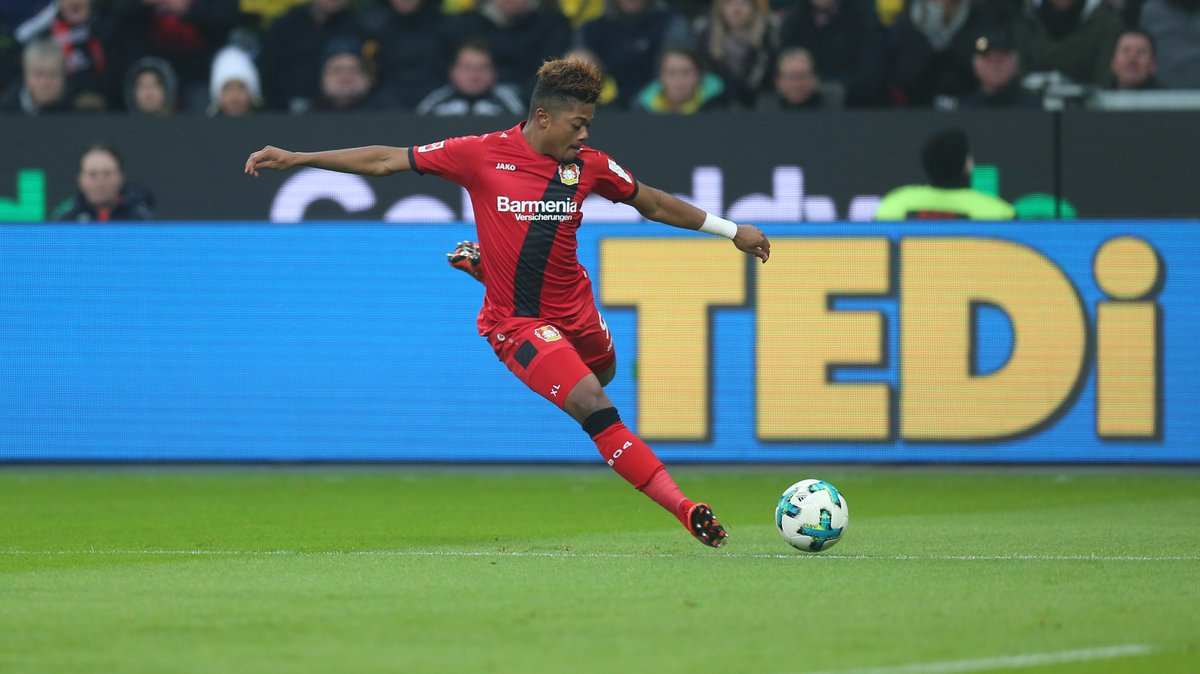 RT @bayer04_en: No surprise here, but @leonbailey has been the fastest player on the pitch today in #B04BVB! https://t.co/z5TbRZIniS