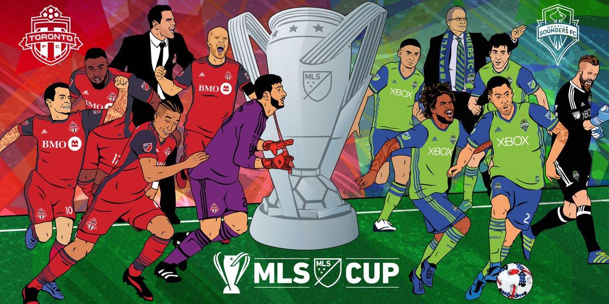 RT @MLS: Locked in. Who's ready? #MLSCup https://t.co/xpJEAILMHg