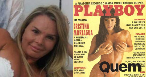 Cristina Mortagua. Foto do site da Quem Acontece que mostra Musa dos anos 90, Cristina Mortagua mostra curvas de lingerie aos 47 anos