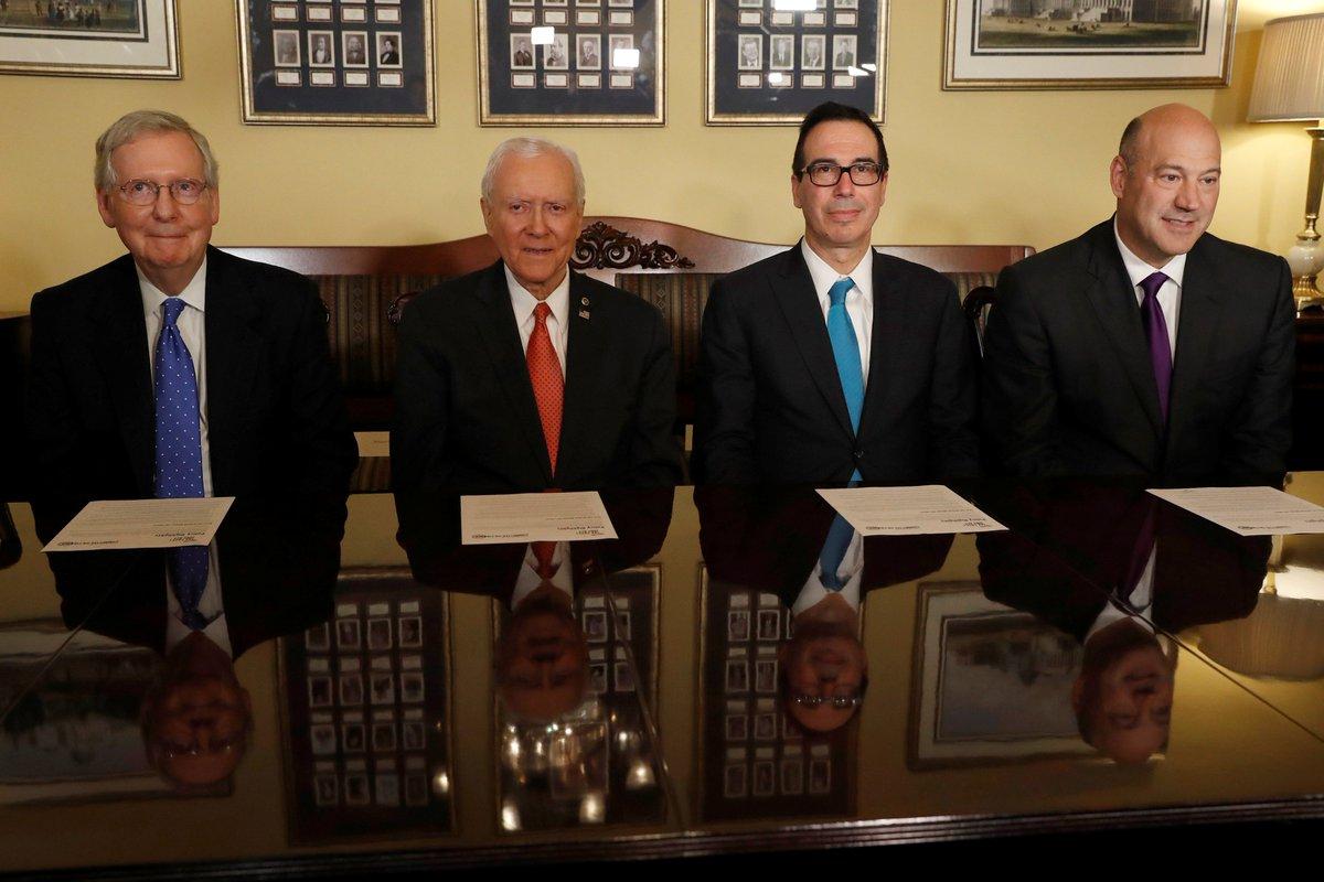 The Republican tax bill will hurt U.S. military according to top generals