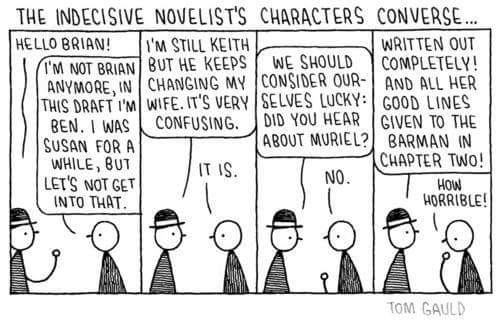 The perilous life of a fictional character. #amwriting #writerslife https://t.co/ETPLk20aHN