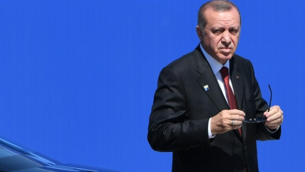 Erdogan says Turkey cannot be 'condemned by courts' in US