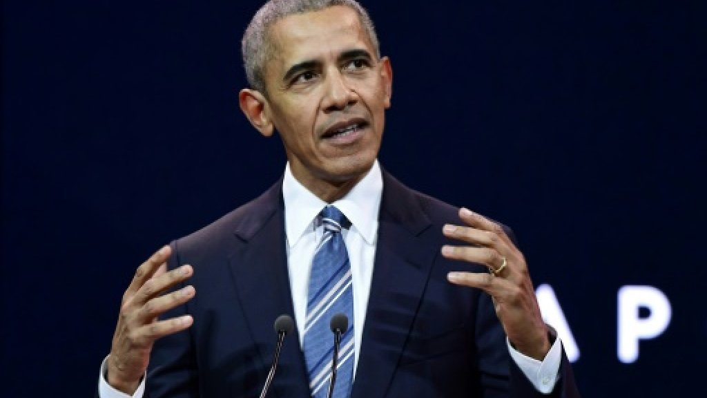 Obama calls for more women in power as 'men seem to be having problems'