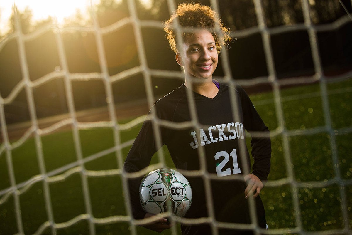 test Twitter Media - Girls Soccer Player of the Year: Jackson's Jadyn Edwards https://t.co/NzBcwYlQqC https://t.co/HPrApbhfos