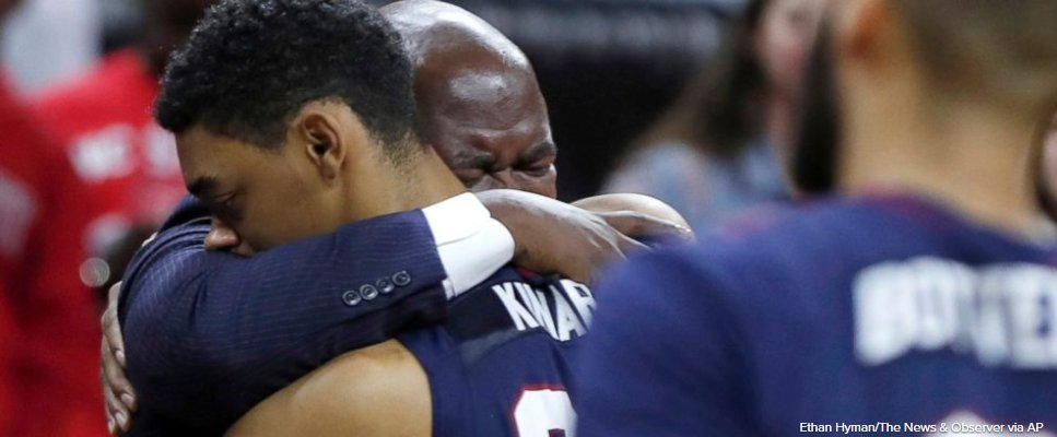 SC State basketball team decides to play on after collapsed teammate is revived.