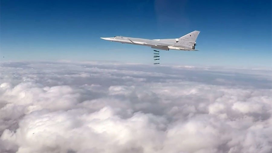 Russian strategic aircraft hit ISIS targets in Syrian province of Deir ez-Zor