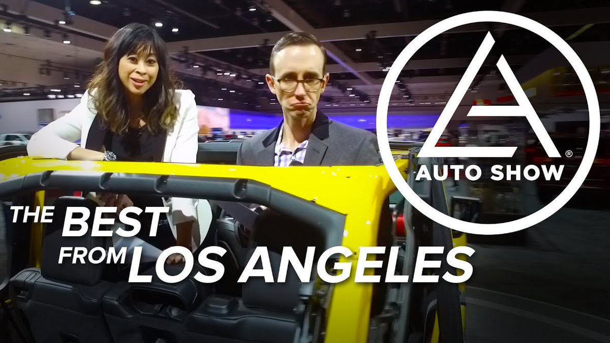 The Best Cars of the 2017 LA Auto Show - Dauer: 1 Stunde