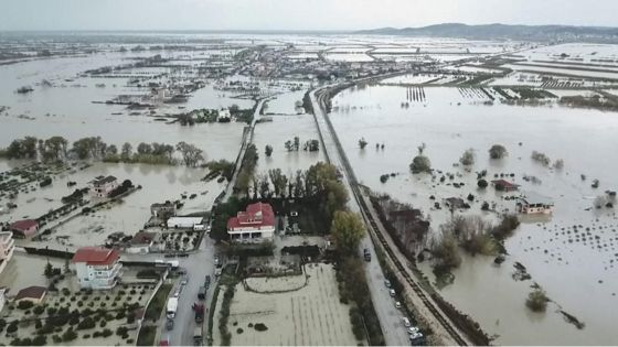 Albania homes destroyed by deadly floods