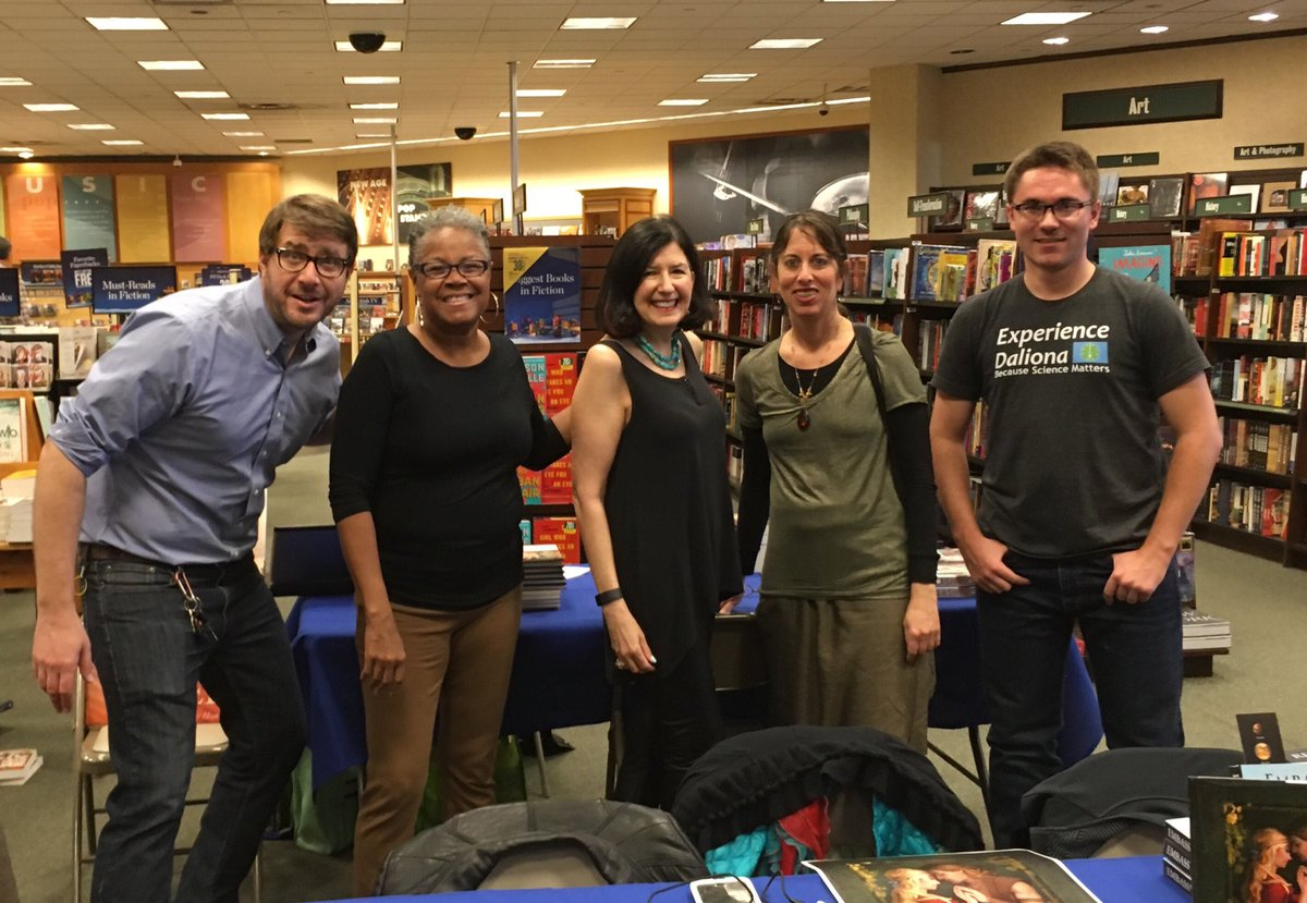 test Twitter Media - Great to be with other authors celebrating the season at the North Hills School District Book Fair at Barnes & Noble. @thescalex @sharonflake @VoicetoStory @JonathanAuxier https://t.co/0PFVzw4rwi