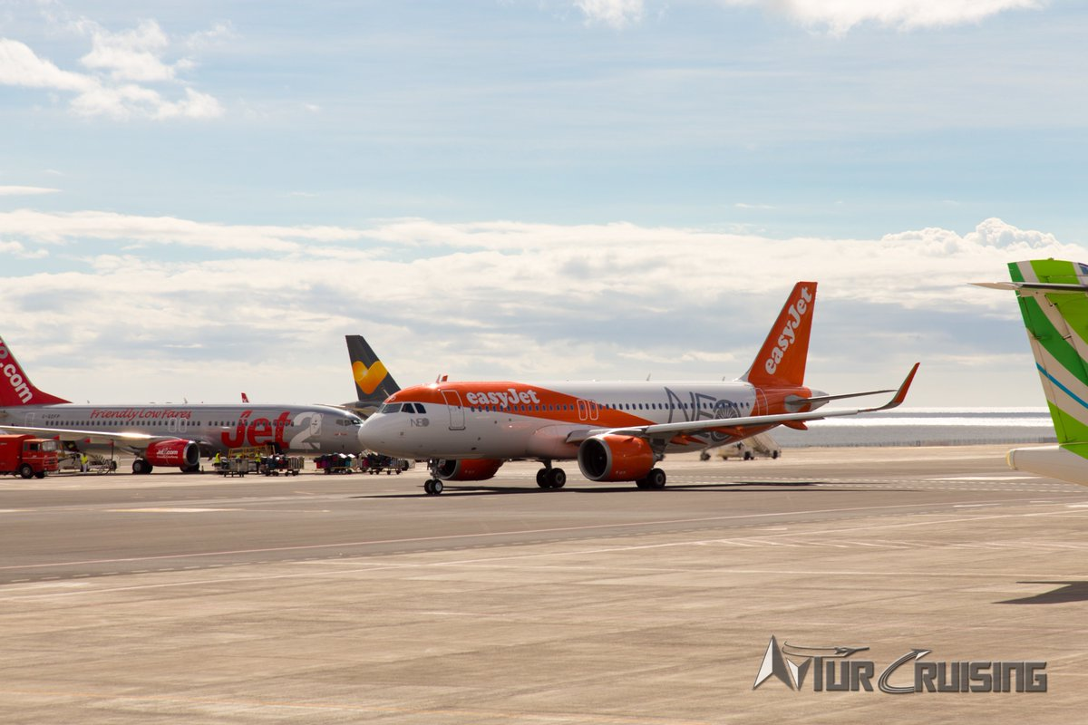 aviation My first glimpse of @easyJet...