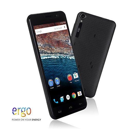 ERGO A503 Optima Unlocked Smartphone With a 5-inch Screen, 3000mAh Battery...