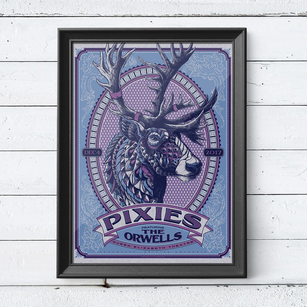 Tonight - Vancouver, BC. Limited edition poster available at tonight's show - designed by BIOWORKZ (Insta: bioworkz) https://t.co/CBQOtEhX7M