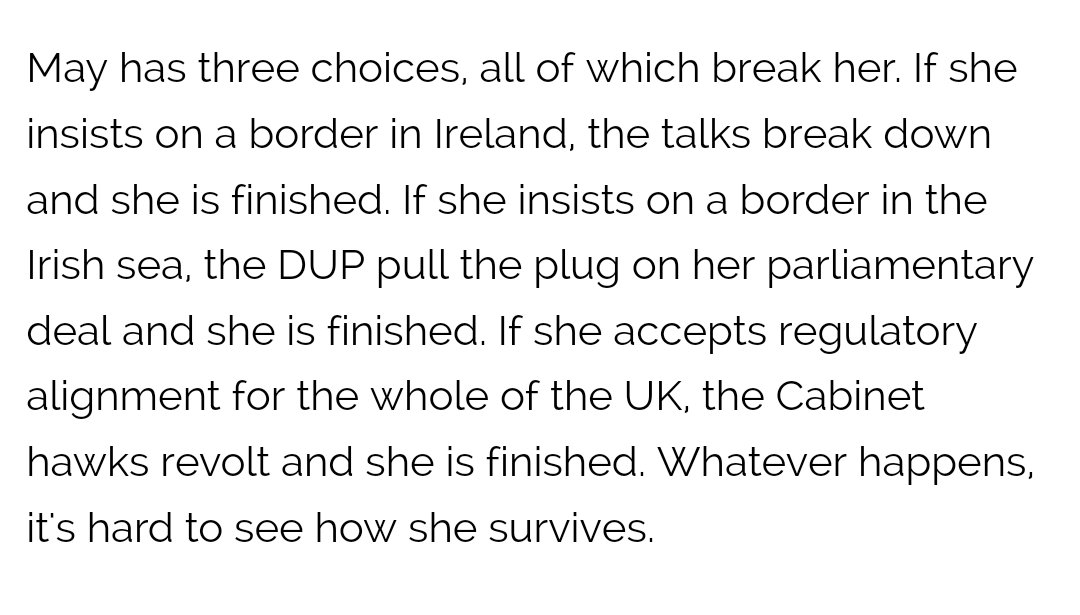 Brexit: May has three choices, all of which break her  https://t.co/pmlytKgdvM https://t.co/cRR4slTh8W
