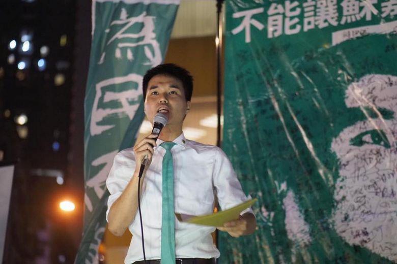 Macau's youngest pro-democracy lawmaker suspended