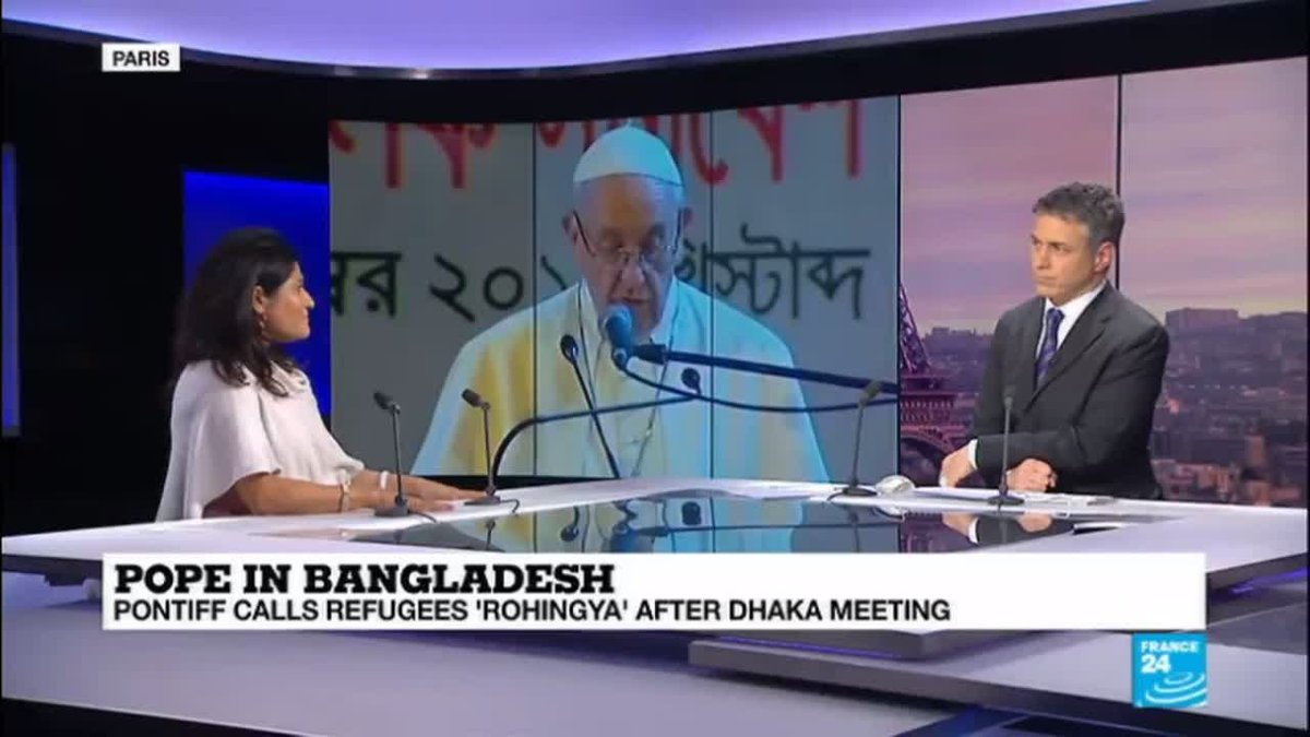 "?? Pope Francis in Bangladesh: ""Don't reduce the Royingha to their religion"""